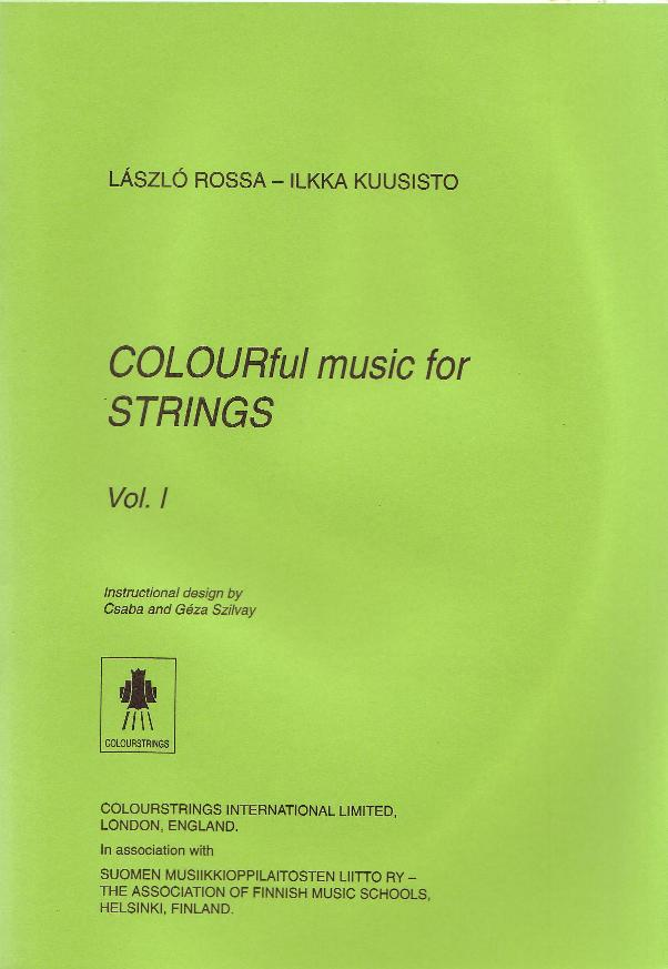 Colourful Music for Strings Volume I
