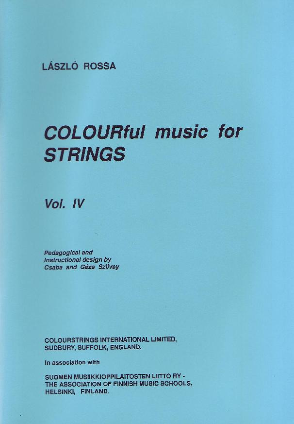 Colourful Music for Strings Volume IV