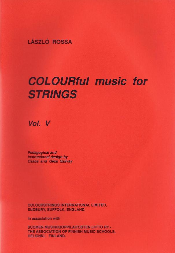 Colourful Music for Strings Volume V