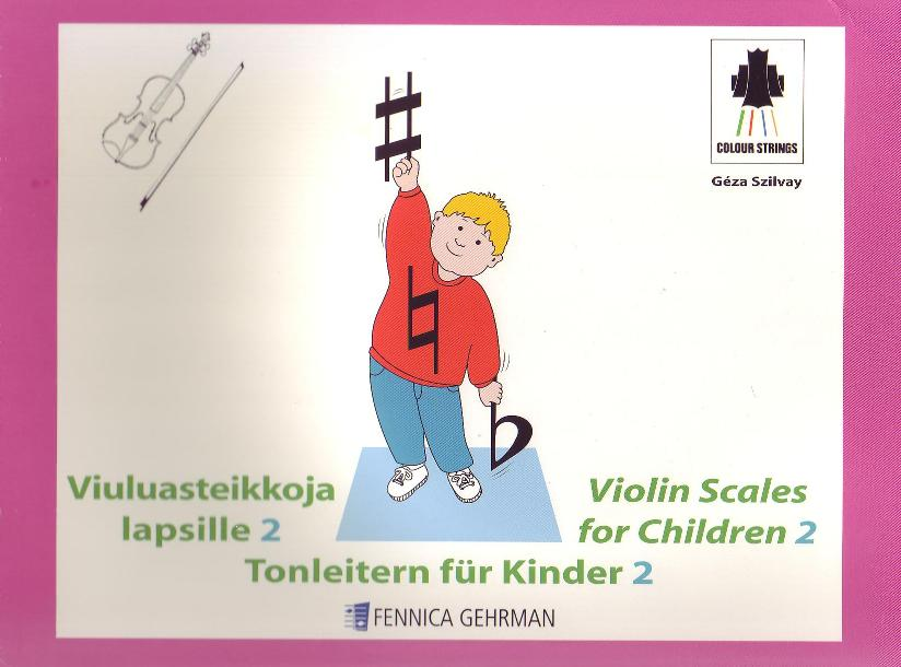 Violin Scales for Children Book 2