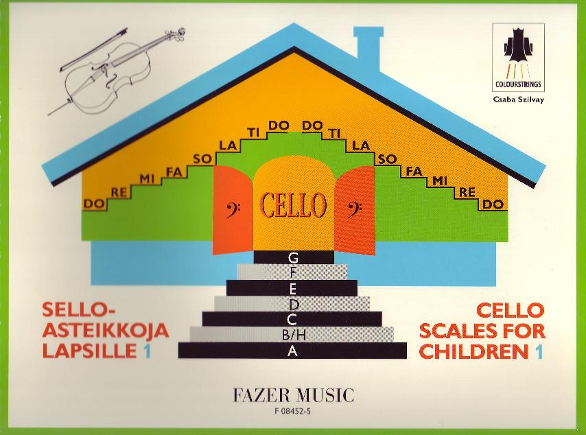 Cello Scales for Children Book 1