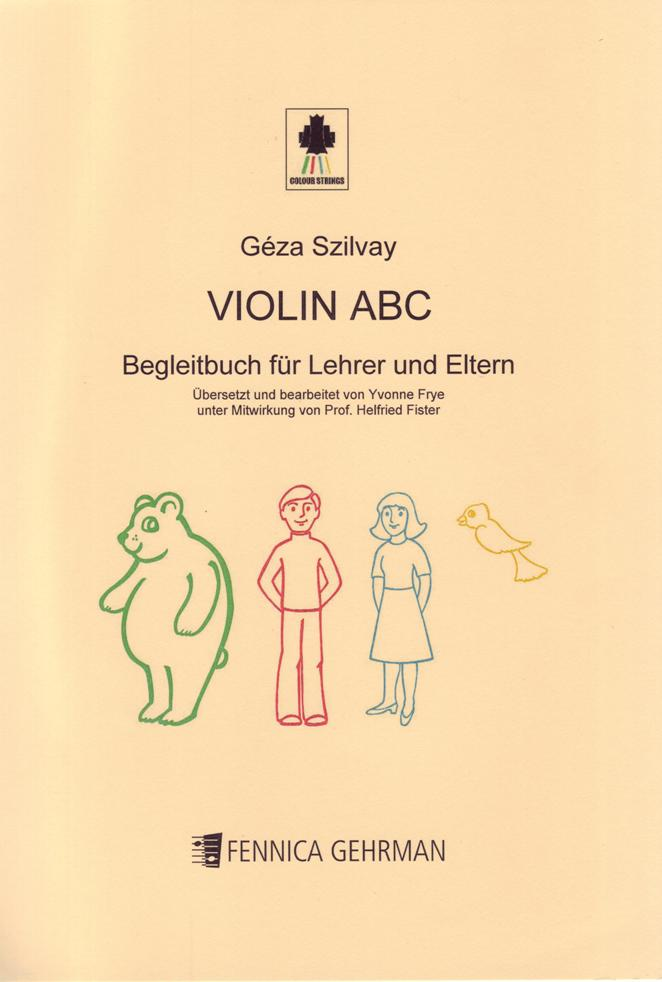 Violin ABC Handbook for Teachers and Parents - German