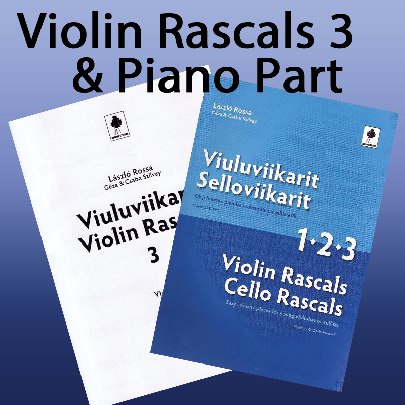 Violin Rascals 3 + Piano Accompaniment