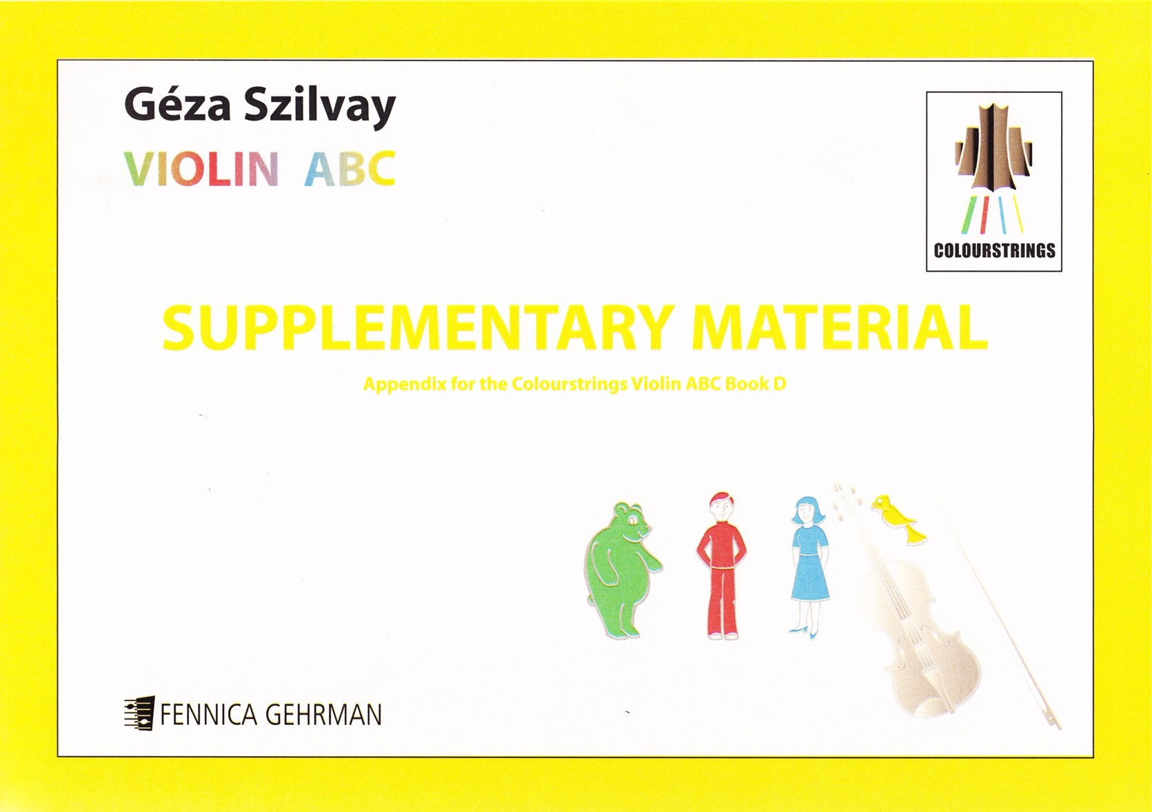 Violin ABC Book D Supplementary Material