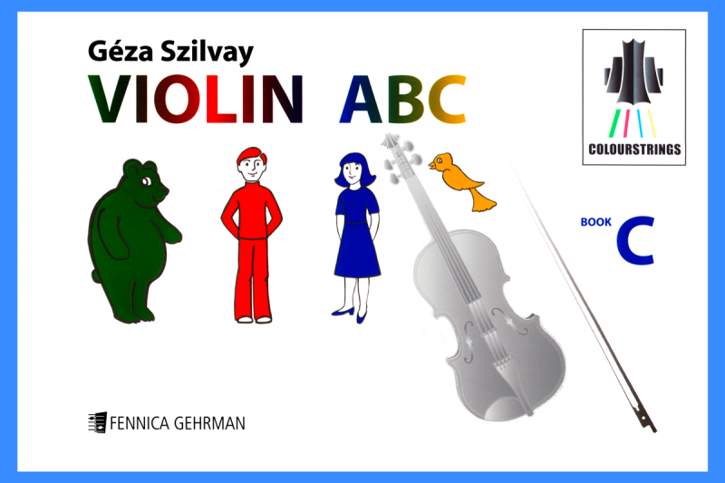 Violin ABC Book C
