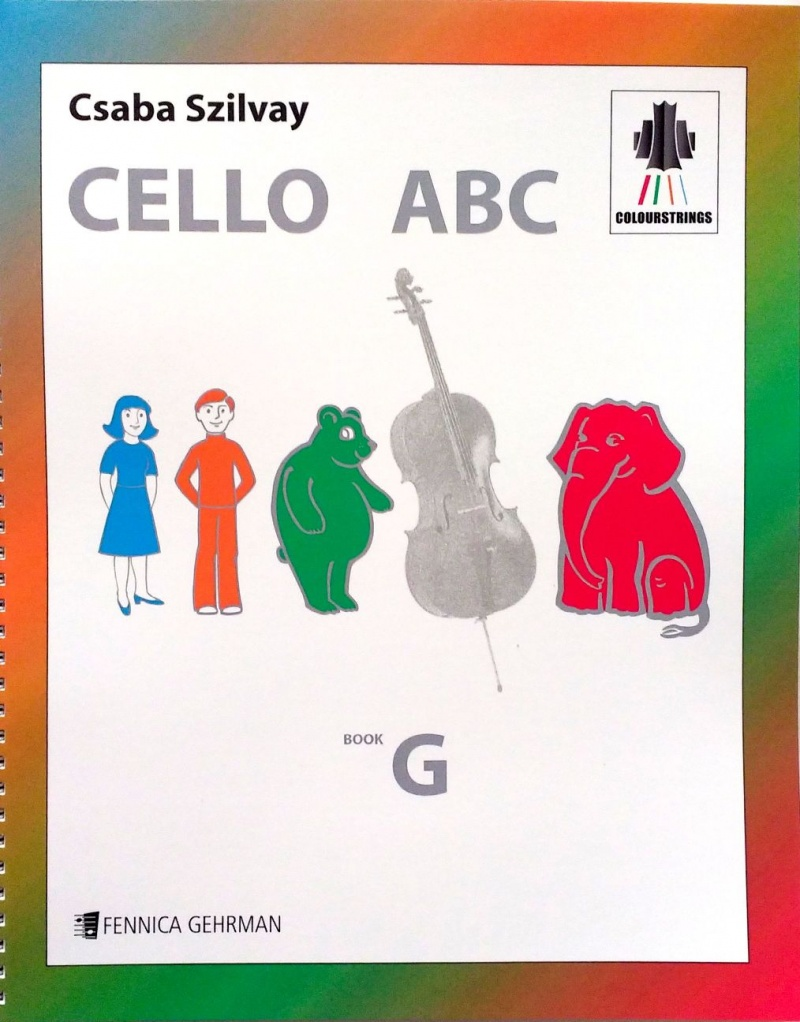 Cello ABC Book G