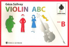 Violin ABC Book B