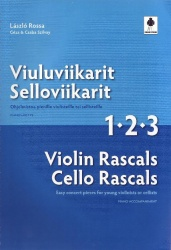 Violin Rascals Cello Rascals 1-2-3 Piano Accomp