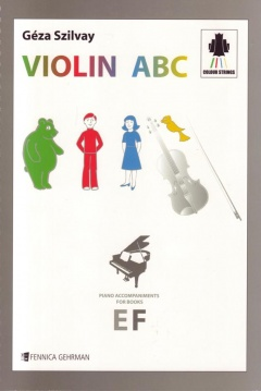 Violin ABC E&F Piano Accompaniments