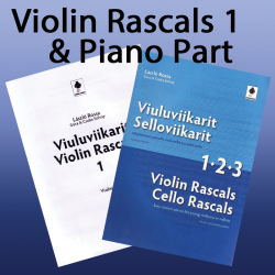 Violin Rascals 1 + Piano Accompaniment