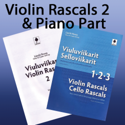 Violin Rascals 2 + Piano Accompaniment