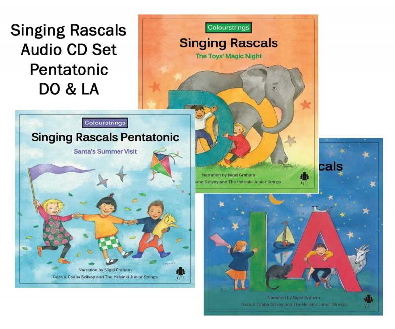 Singing Rascals CD set