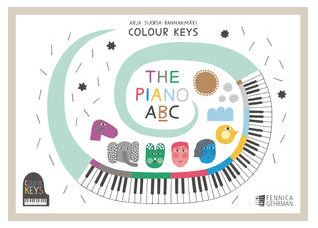 Colour Keys - The Piano ABC - Book B