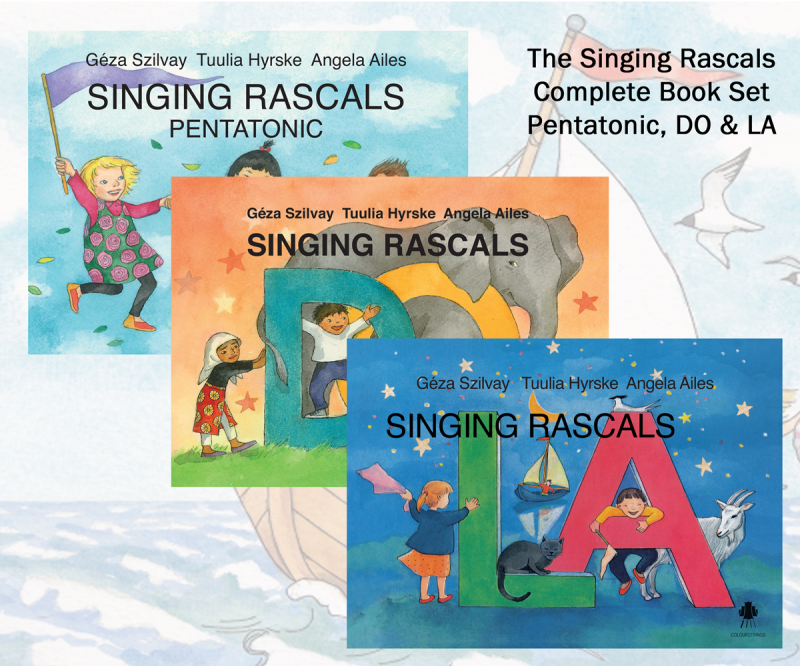Singing Rascals Book set