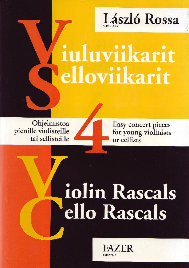 Violin Rascals Cello Rascals 4 (original edition)