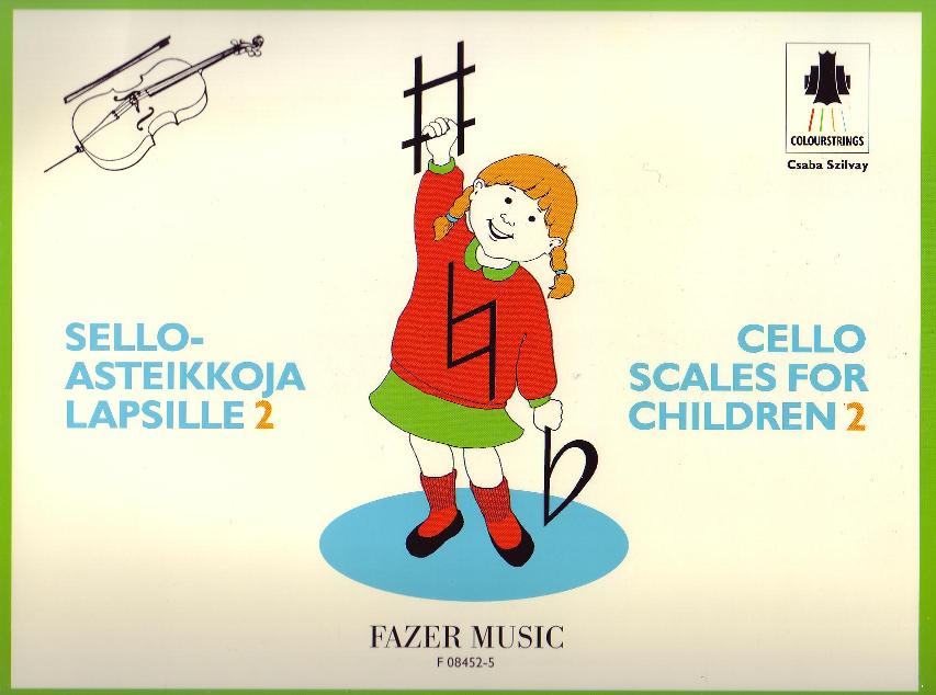 Cello Scales for Children Book 2