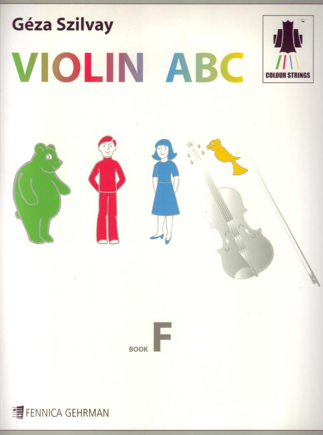 Violin ABC Book F