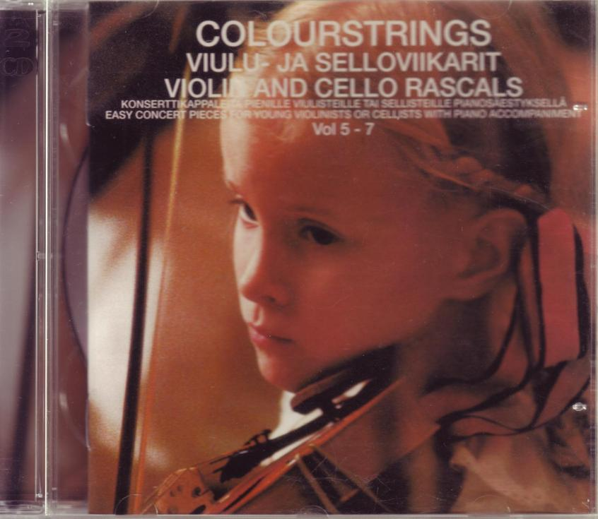 CD Violin and Cello Rascals Vol 5-7