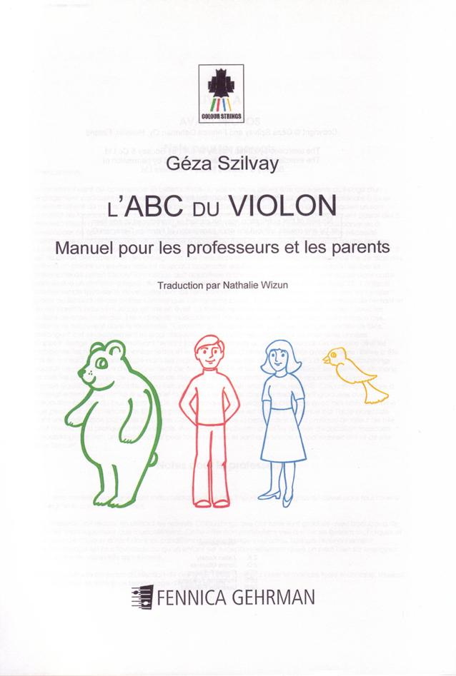 Violin ABC Handbook for Teachers and Parents - French