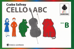 Cello ABC Book B