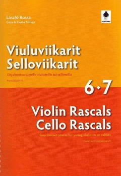 Violin Rascals Cello Rascals 6-7 Piano Accomp