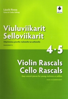 Violin Rascals Cello Rascals 4-5 Piano Accomp