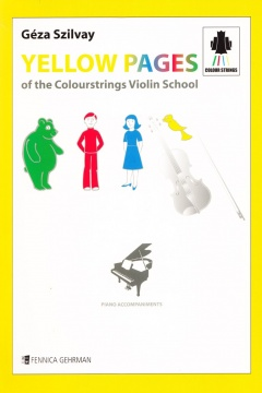 Yellow Pages of the Colourstrings Violin School Piano Accompaniments